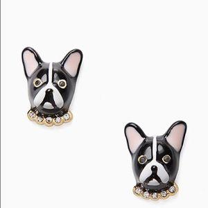 Kate spade Ma Cherie Dog stud earrings